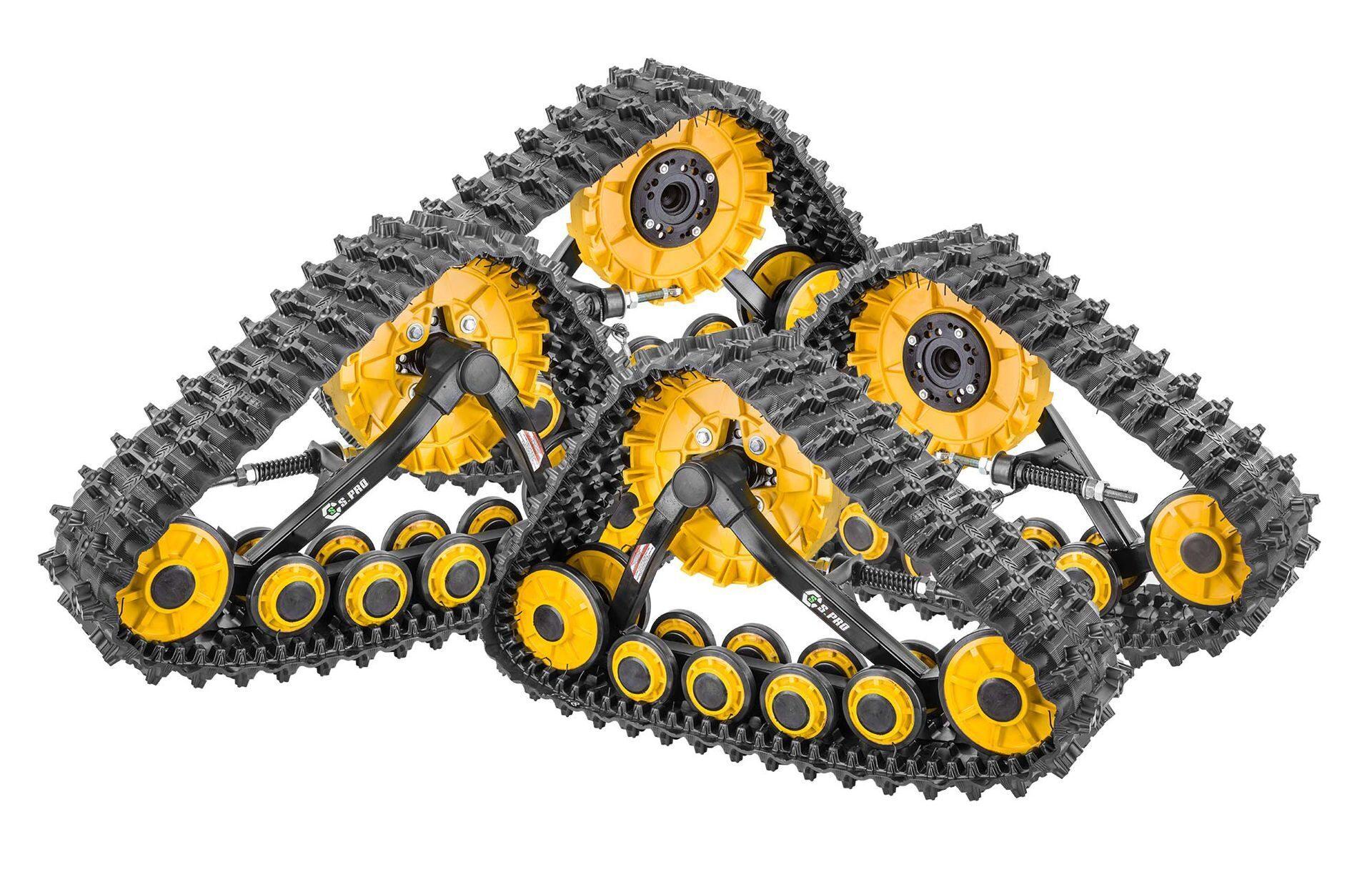 Схемы гусениц для автомобиля
